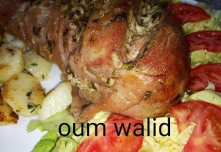 Photo of مطبخ ام وليد فخض الديك الرومي المحمر في الفرن