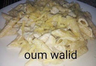 Photo of مطبخ ام وليد معكرونة صلصة بيضاء