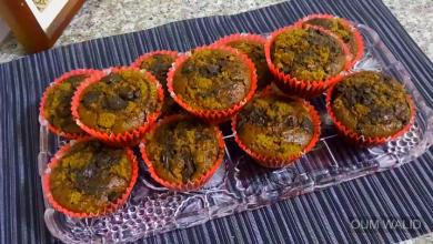 Photo of مطبخ ام وليد كاب كيك الشوكولا و فتات البيسكوي