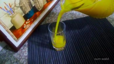 صورة مطبخ ام وليد عصير المشمش الطازج