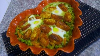 Photo of مطبخ ام وليد طاجين الجلبانة في الفرن