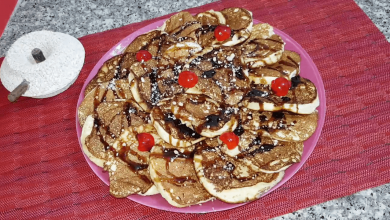 Photo of Oum walid Pancakes japonais léger