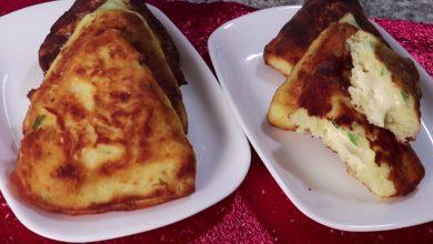 Photo of مطبخ ام وليد مثلثات محشية بعجينة جد سهلة و بسيطة