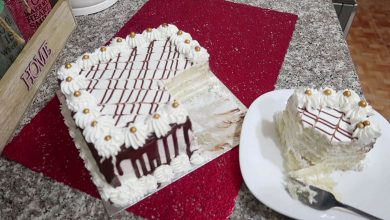 Photo of مطبخ ام وليد اسهل كيكة عيد ميلاد بدون جينواز و بدون فرن