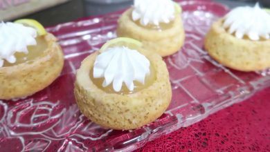 Photo of مطبخ ام وليد ميني كيك بكريمة الليمون