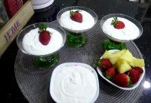 Photo of مطبخ ام وليد تحلية الفراولة و الكريمة الرائعة