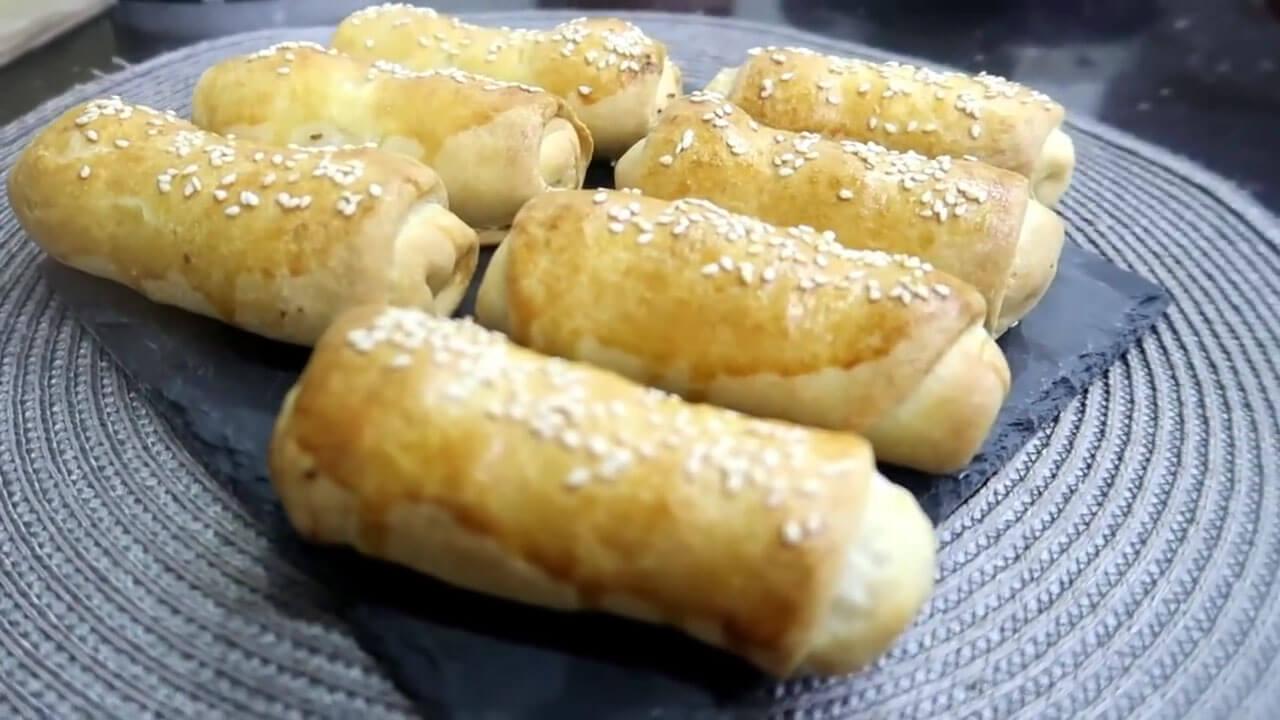 صورة مطبخ ام وليد بوراك العجين في الفرن باخف عجينة و حشوة لذيذة / وصفات رمضان