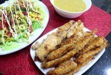 صورة مطبخ ام وليد شرائح الدجاج المقرمشة في الفرن