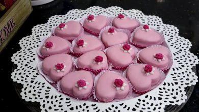 Photo of مطبخ ام وليد قلوب الفراولة الرائعة بكريمة الزبدة