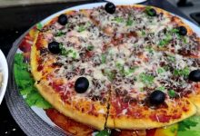Photo of مطبخ ام وليد البيتزا السائلة بالسميد ناجحة 100% و بدون تعب