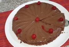 صورة مطبخ ام وليد كيكة الشوكولا بدون فرن لتفادي حر الصيف