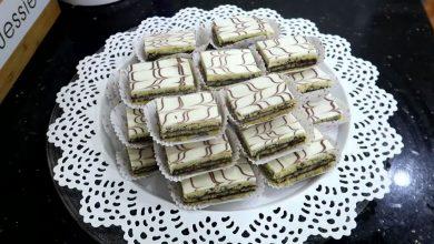 Photo of مطبخ ام وليد حلويات عيد الاضحى حلوة الطبقات بالشوكولا سهلة و سريعة جدا