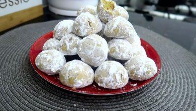 صورة مطبخ ام وليد حلوة الفرينة المحمصة الرائعة و الاقتصادية ببيضة واحدة فقط