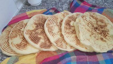 صورة مطبخ ام وليد مطلوع صغير او خبز صغير منفوخ للسندويتش