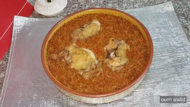 صورة مطبخ ام وليد الشعيرية او الدويدة فالفرن بنتها رائعة