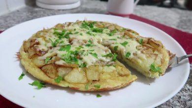 صورة مطبخ ام وليد فريت اومليت بطريقة جديدة بلا ما تقلي البطاطا