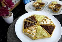 صورة مطبخ ام وليد تارت رائعة بكريمة واحدة و 3 اذواق مختلفة