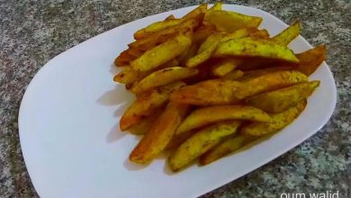 صورة مطبخ ام وليد بطاطا محمرة في الفرن