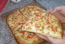 صورة مطبخ ام وليد فطيره الطماطم بعجينة سهلة و سريعة