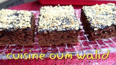 صورة مطبخ ام وليد كيكة الدانات الرائعة والاقتصادية بذوق الشوكولا و الكراميل
