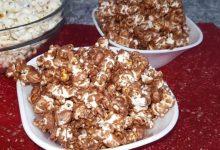 صورة مطبخ ام وليد بوب كورن بالشوكولا للسهرات العائلية