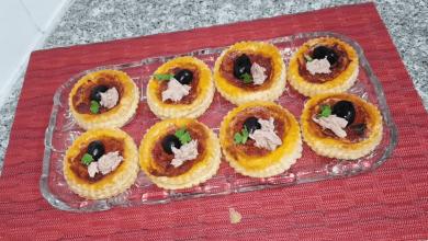 صورة مطبخ ام وليد أسهل و ألذ و أسرع ميني بيتزا بالعجينة المورقة السحرية