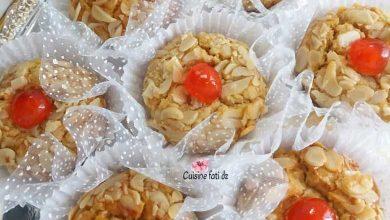 صورة مشوك معسل بعجينة حلوة الترك و الجلجلان