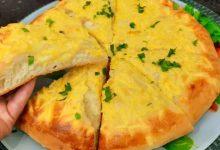 صورة مطبخ ام وليد مابين البيتزا و الخبز المحشي